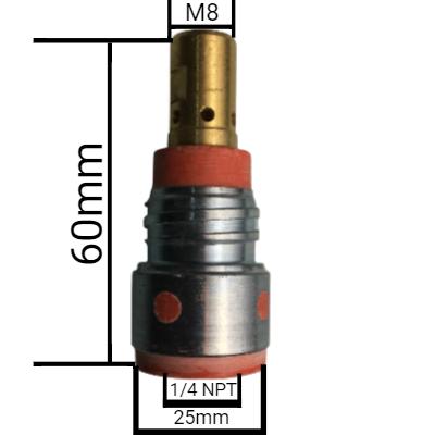 Porta bocal MB406 rosca M8