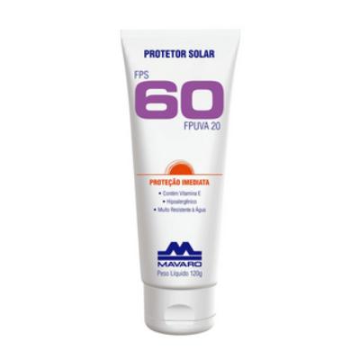 Protetor solar FPS 60 DE 120g