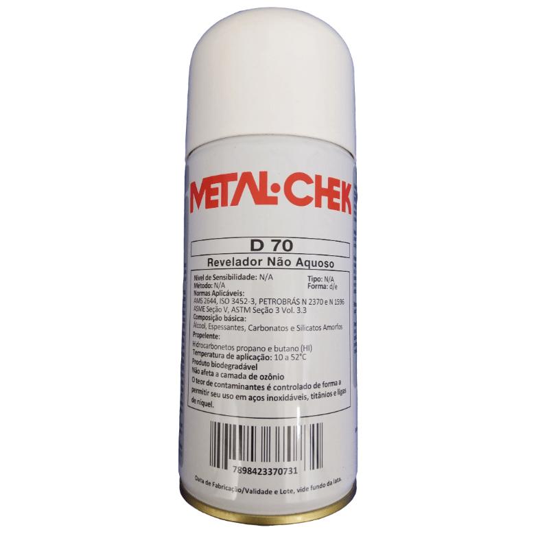 Revelador D 70 Metal Chek