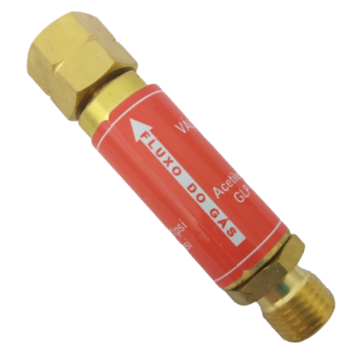 Válvula corta fogo para maçarico Ace/GLP