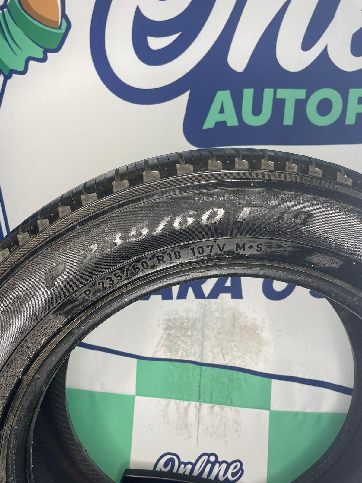 Par Pneu 235/60/18 Pirelli Scorpion Verde 107V