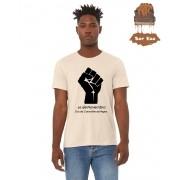 """Camiseta Ecológica - """"20 de Novembro - Dia da Consciência Negra"""""""