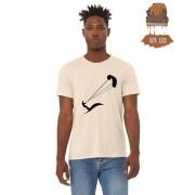 "Camiseta Ecológica - ""kitesurf"""