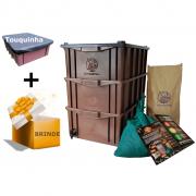 Kit Composteira Doméstica - M (para 2 ou 3 pessoas)