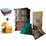 Kit Composteira Doméstica - P4 (para 1 pessoa)