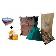 Compostchêira Doméstica - Kit P (para 1 pessoa)