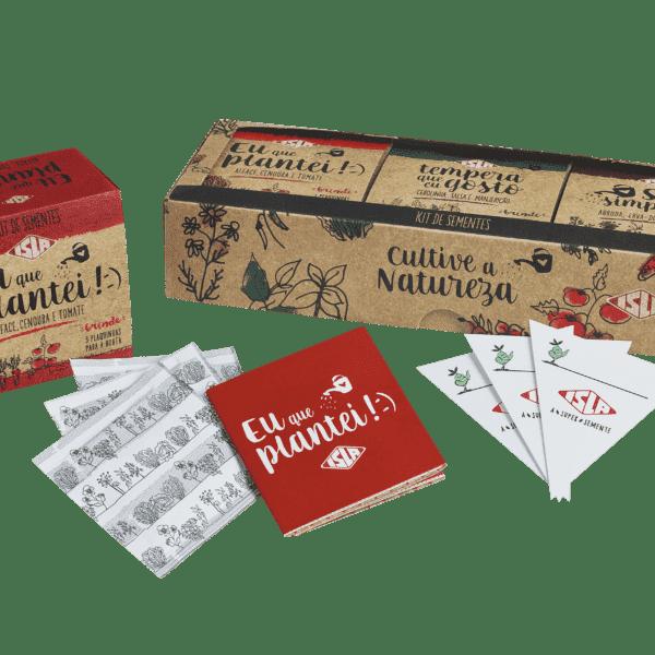 3 Kits de Sementes para presente
