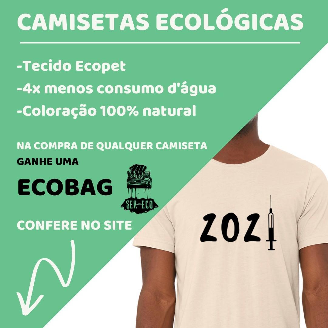 "Camiseta Ecológica - ""2021"""