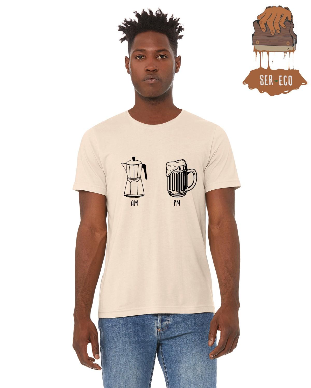 """Camiseta Ecológica - """"AM - PM"""""""