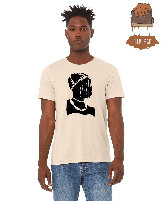 """Camiseta Ecológica - """"Consciência Negra"""""""