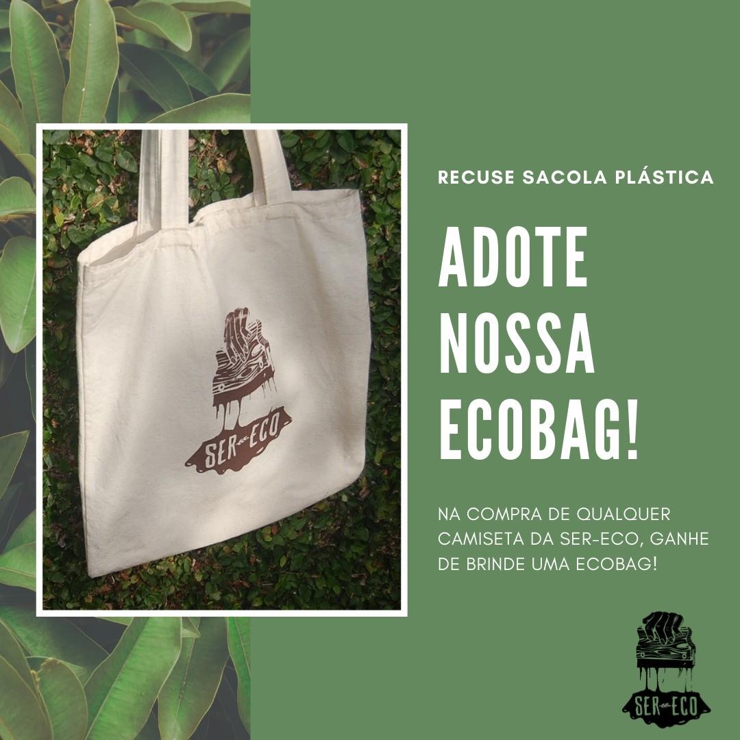 """Camiseta Ecológica - """"Lute como uma Guria"""""""