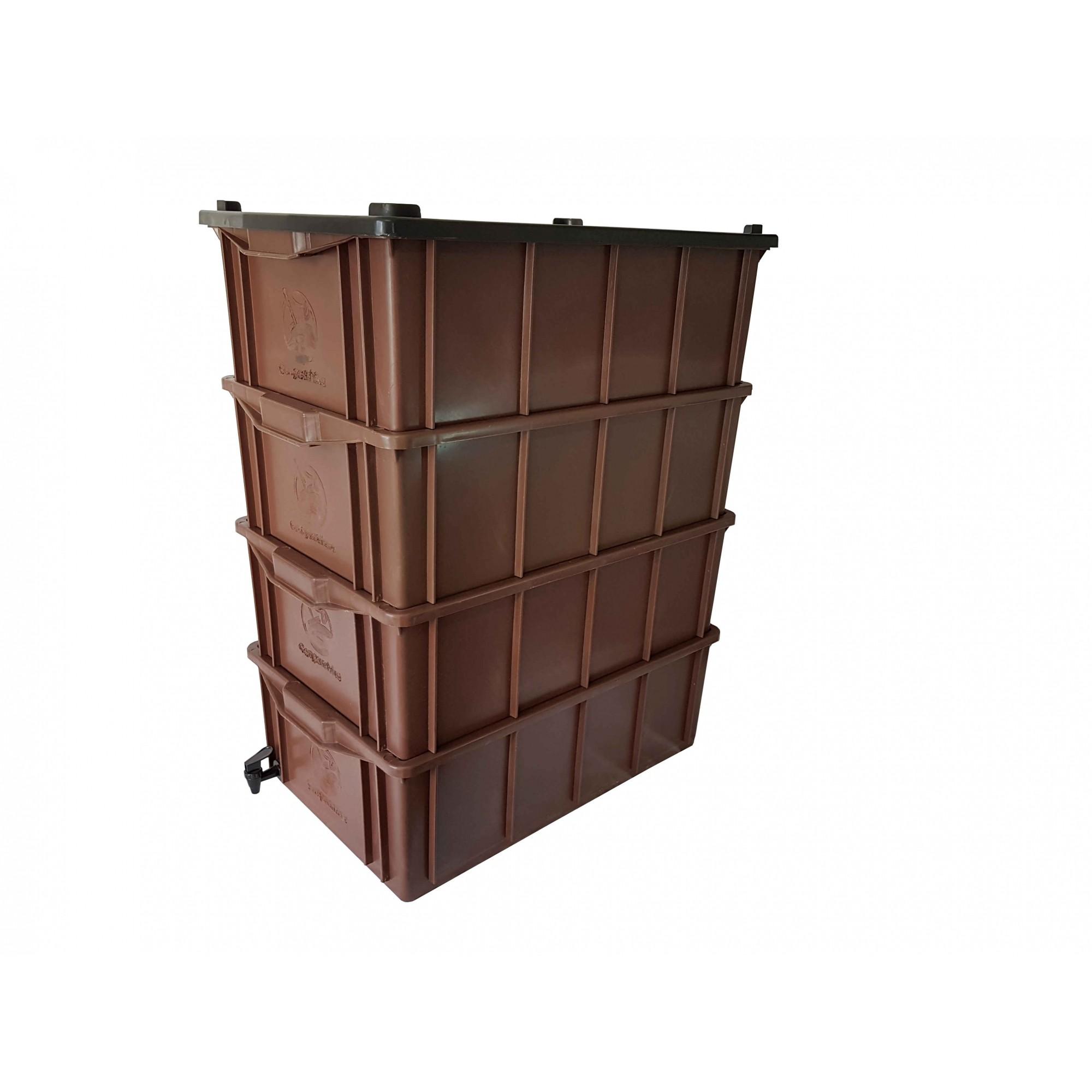 Compostchêira Doméstica - M4 (para 3 ou 4 pessoas)