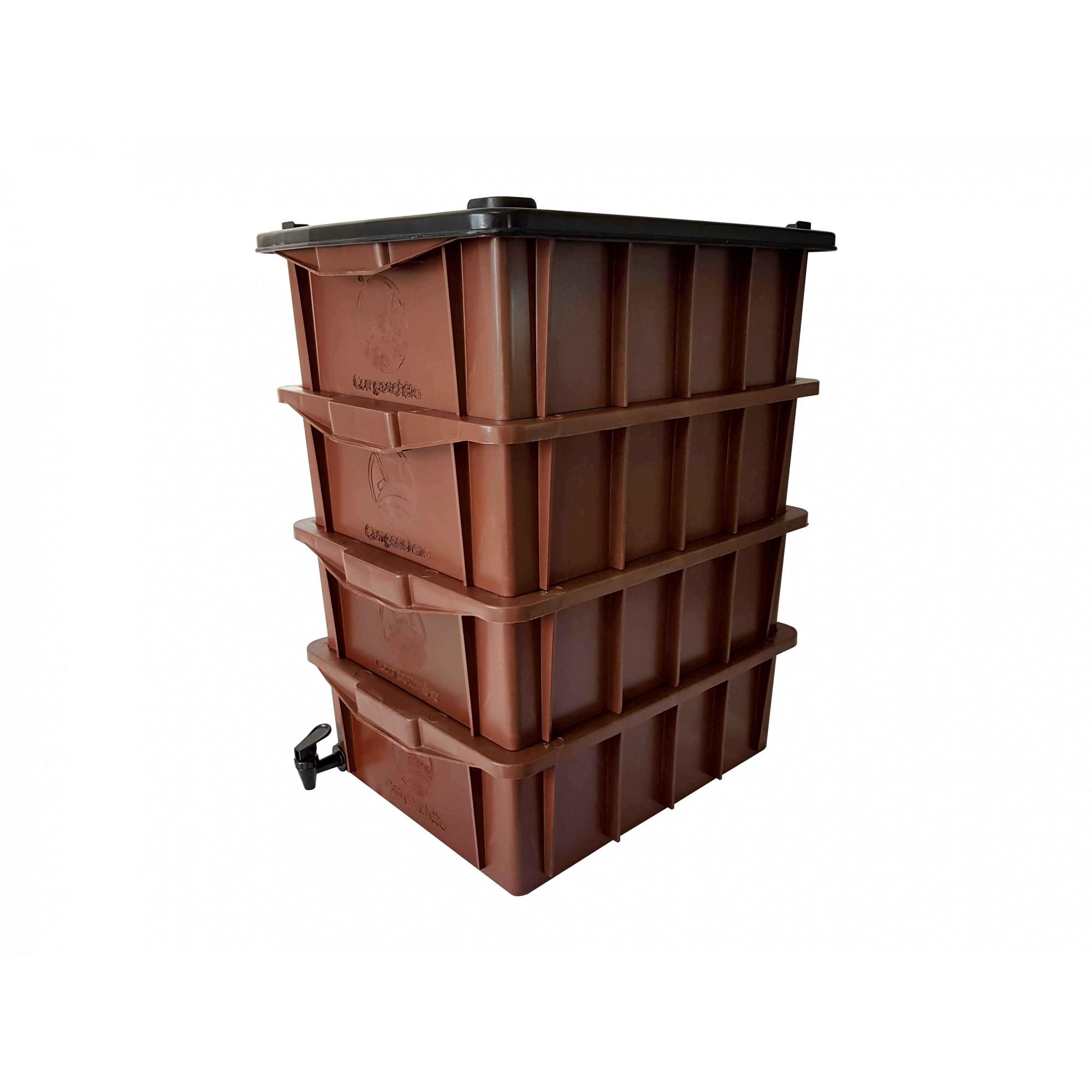 Compostchêira Doméstica - P4 (para 1 pessoa)