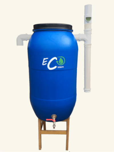 Kit Cisterna 240 litros - coleta de água pluvial