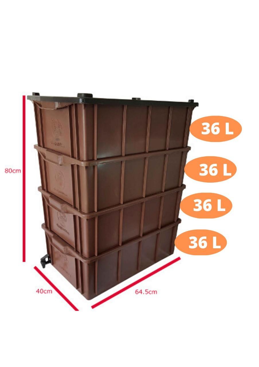 Kit Composteira Doméstica - M4 (para 3 ou 4 pessoas)