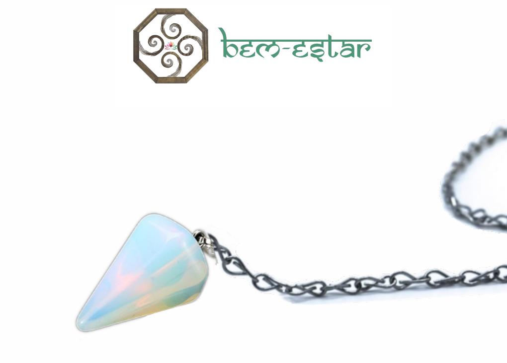 Pêndulo Pedra da Lua - Opalina