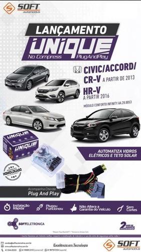 Módulo Vidro Elétrico Soft Pw42l Unique Civic/ Accord/ Crv