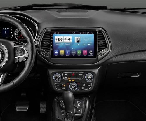 Multimídia Winca Stq Jeep Compass 2017 - 2020 10.1 Polegadas OCTACORE