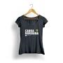 Camiseta Canoa Havaiana Paddles Elas - Black