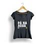 Camiseta Pá na Água Paddles Elas - Black