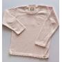 Blusa Tricot Lia Rosa Bebê
