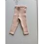 Calça tricot Ana baby rosa bebê