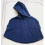 Capa Tania tricot azul marinho