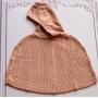 Capa Tania tricot rosa