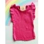 Cropped Emoção tricot pink Minilady