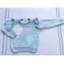 Sweater tricot Maraisa azul