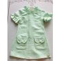 Vestido Pérolas verde