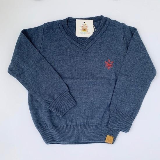 Blusa João tricot Azul
