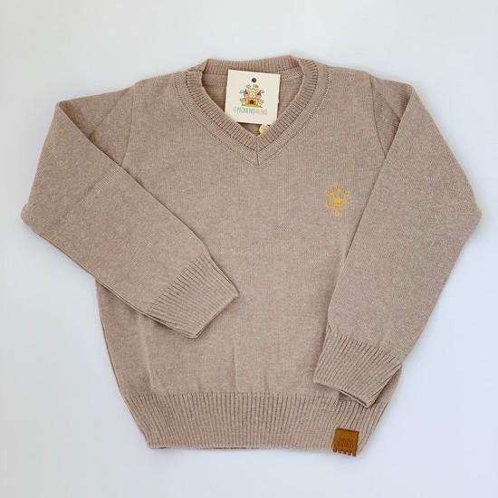 Blusa João tricot Bege