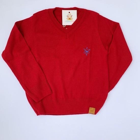 Blusa João tricot Vermelha