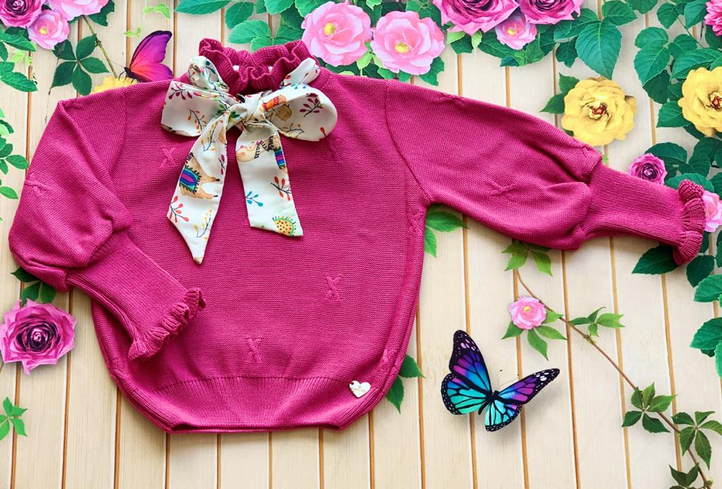 Blusa tricot Alice Pink