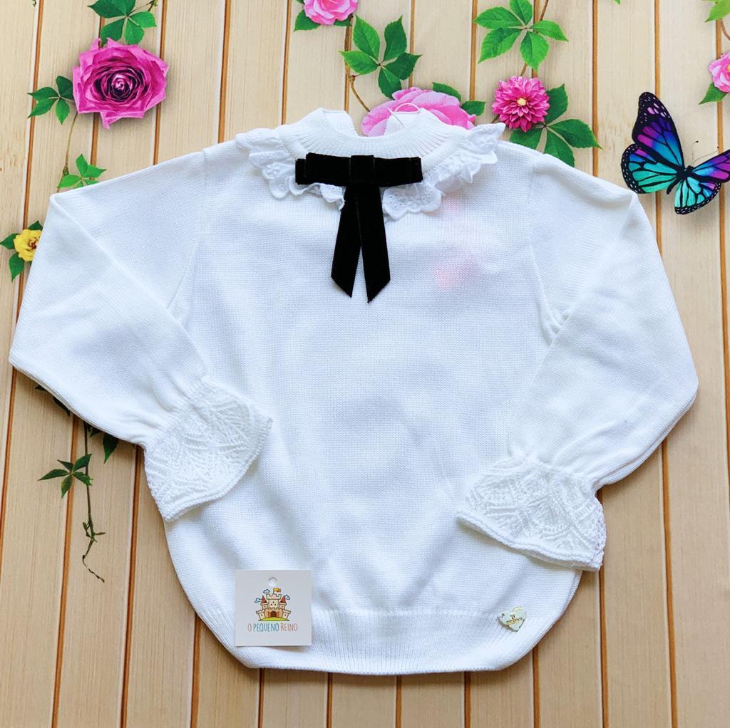 Blusa Tricot Mia Branca
