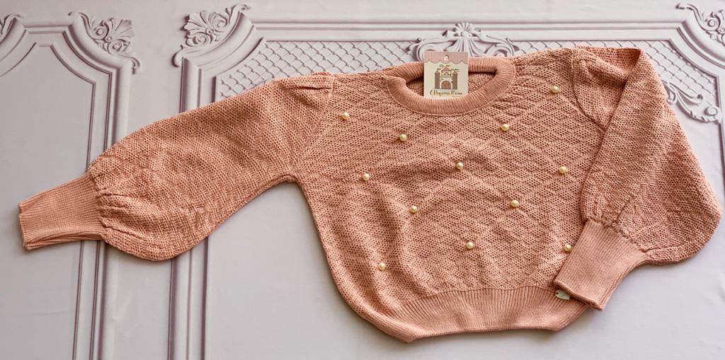 Blusa Tricot Mirian rosa
