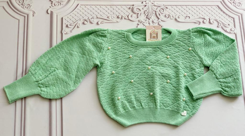Blusa Tricot Mirian verde