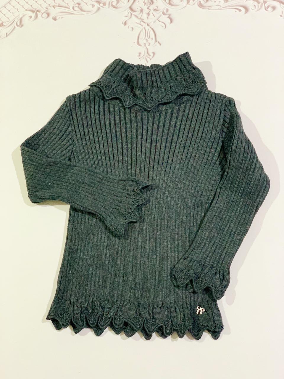 Cacharrel Maria tricot Preto