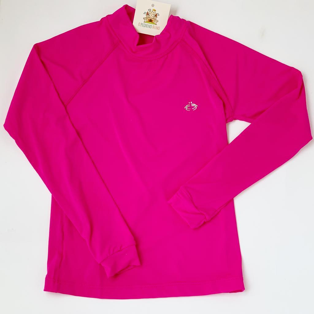 Camiseta proteção solar pink