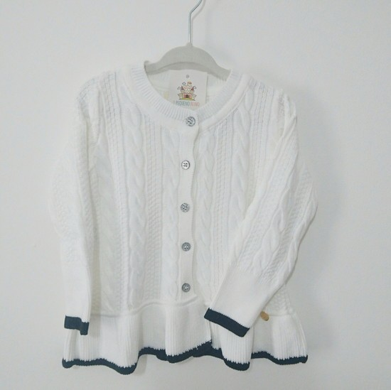Cardigan Essencial Branco