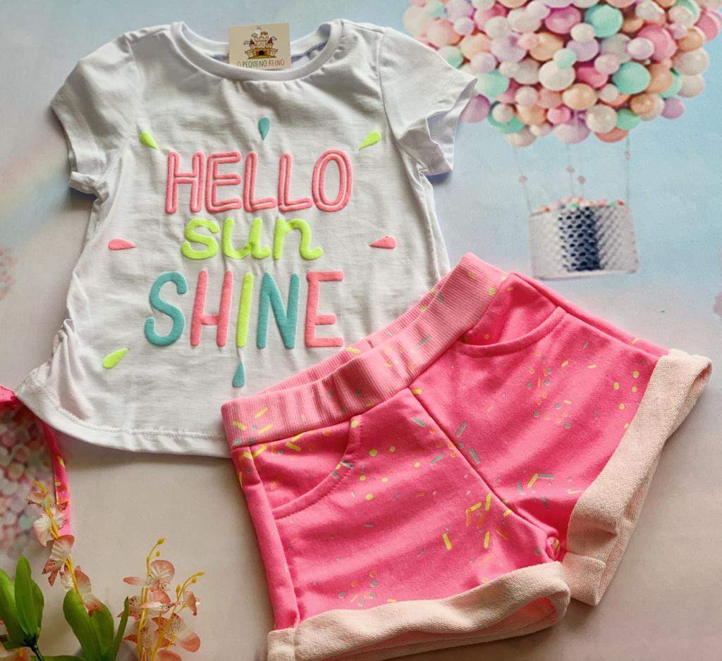 Conjunto Hello Sun Shine
