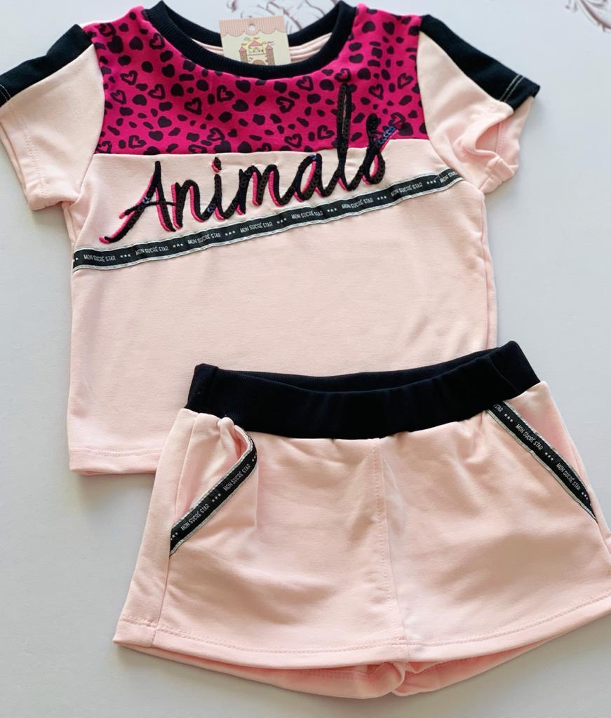 Conjunto Pantera Pink