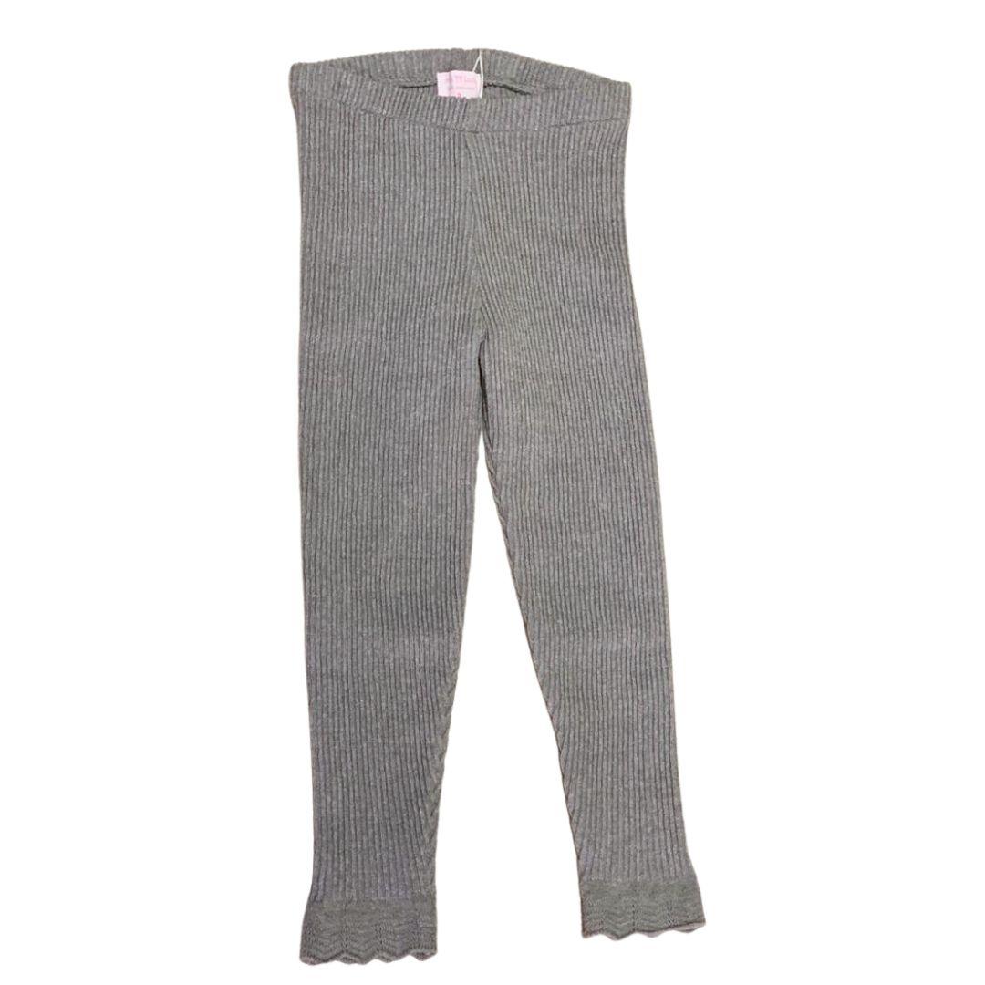 Legging Ana tricot cinza