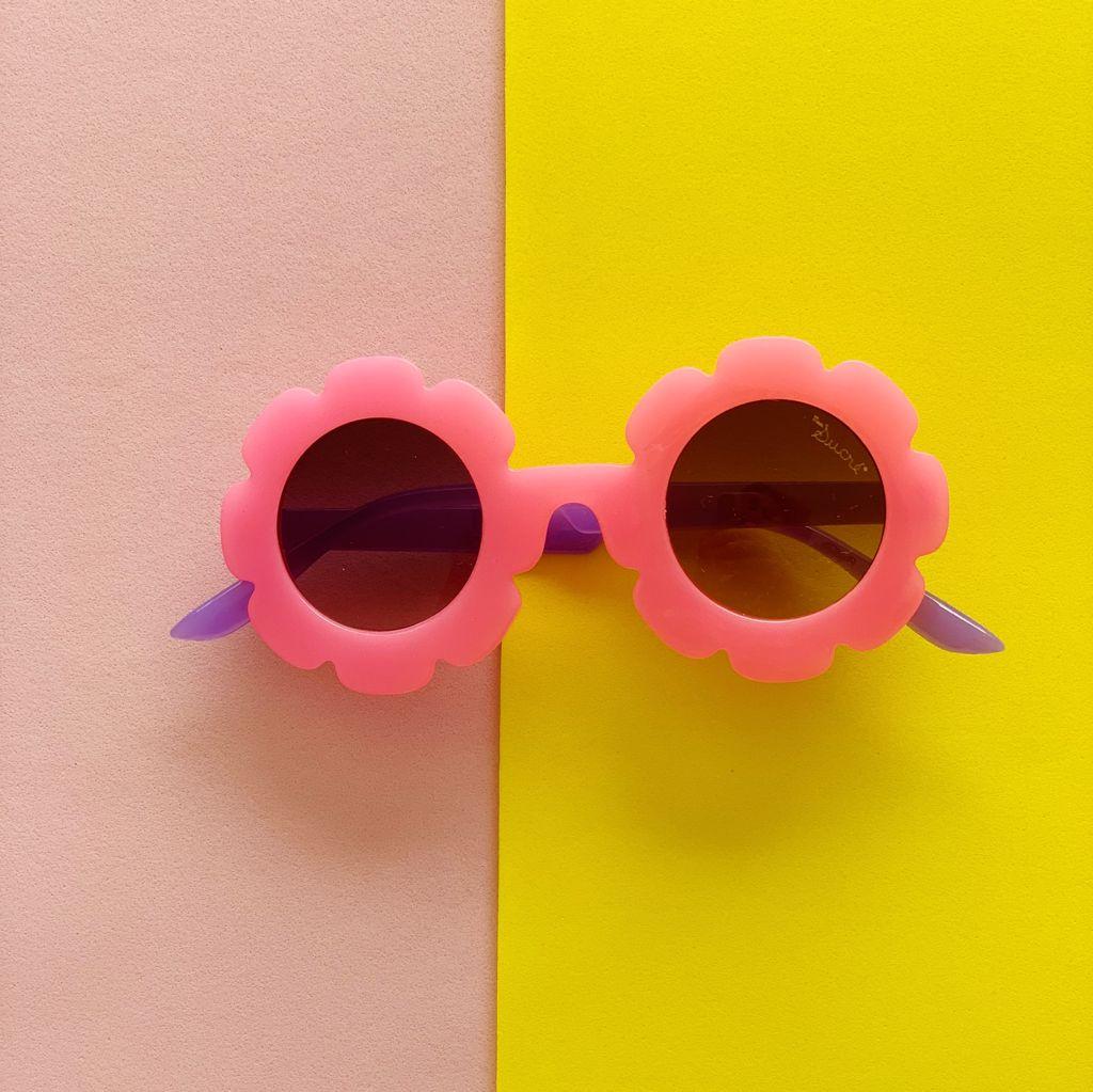 Óculos de Sol Flor Pink
