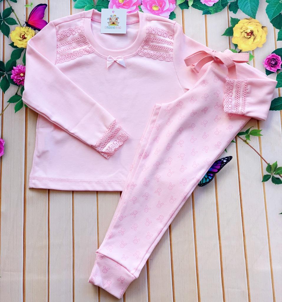 Pijama Emilly rosa