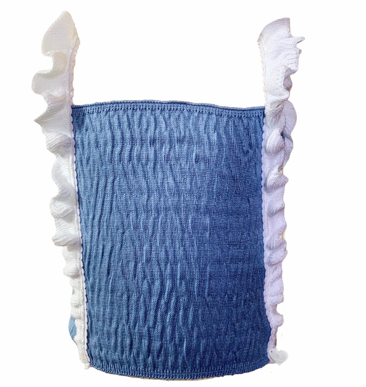 Regata Issa tricot azul