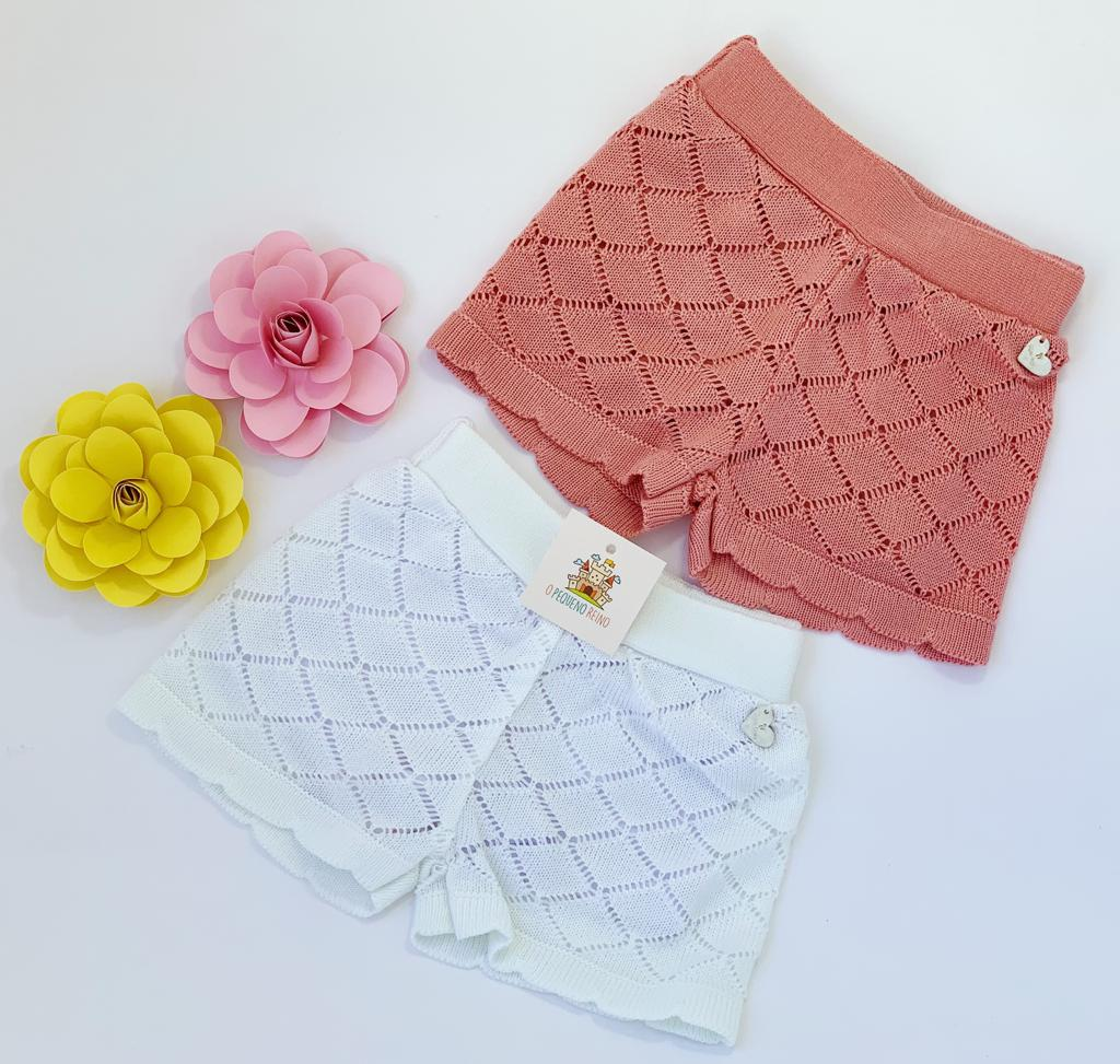 Shorts Tricot Antônia (2 cores)