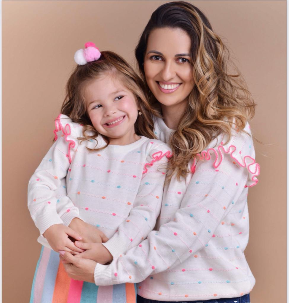 Sweater Marcela tricot Mãe