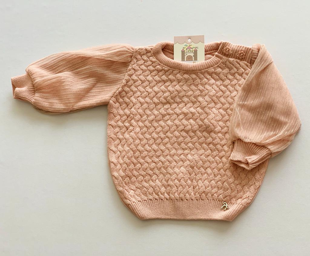 Sweater tricot Baby Anne